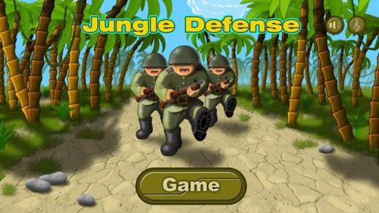 丛林防御 无限金币版