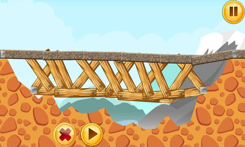搭桥游戏截图