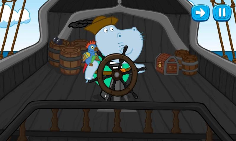 河马的故事:海盗游戏截图