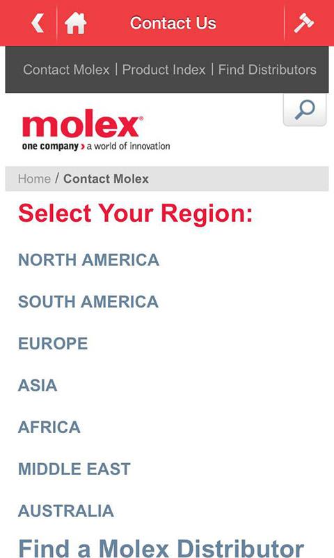 Molex移动应用