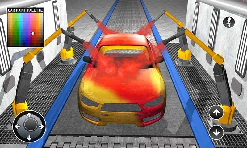跑车制造商工厂截图