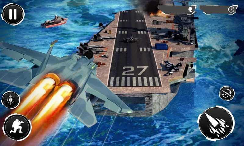 海军炮手射击战争截图