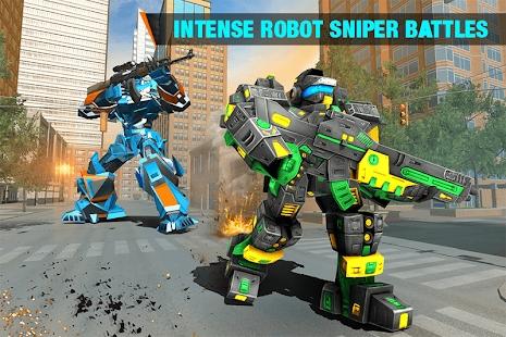 机器人FPS射击截图