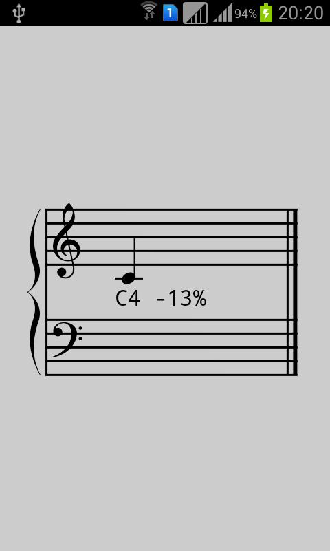 大谱表校音器截图