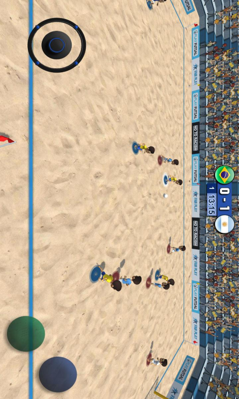 沙滩足球截图