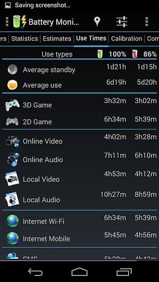 Battery Monitor Widget Pro截图