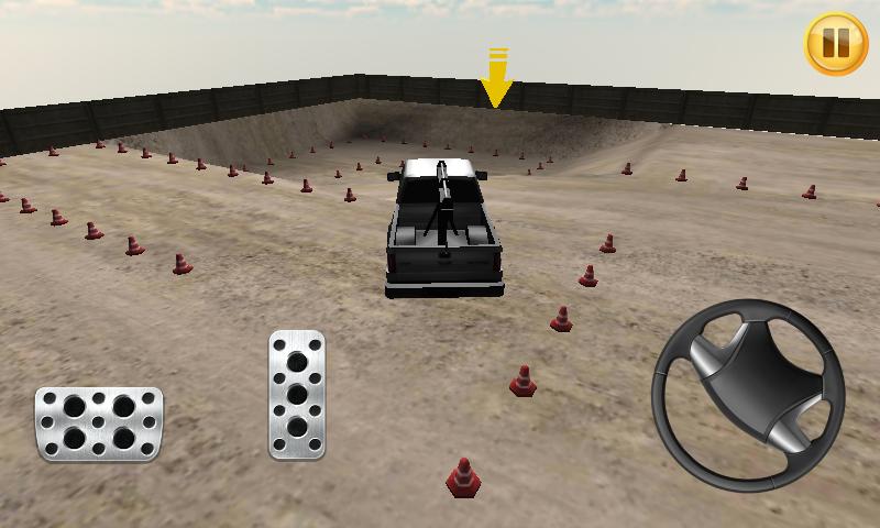 起重机停车3D