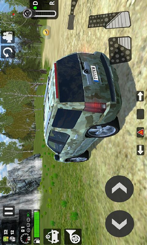 大型越野车模拟