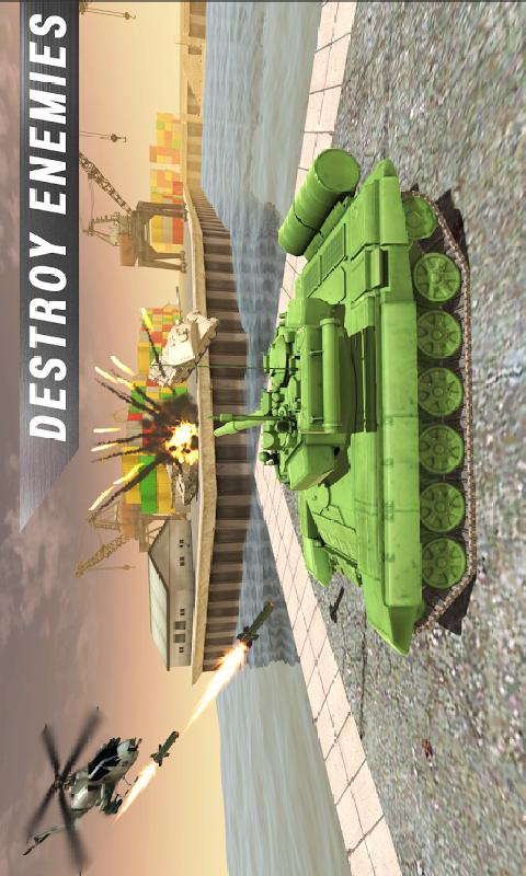 坦克VS坦克截图