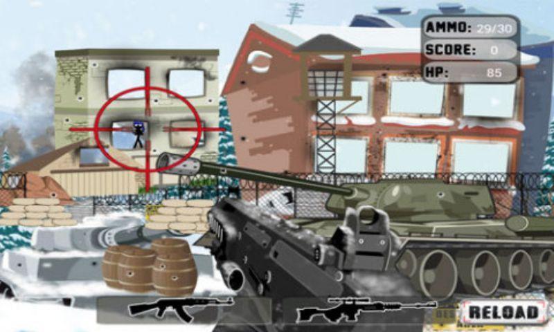 陆军冬季狙击手