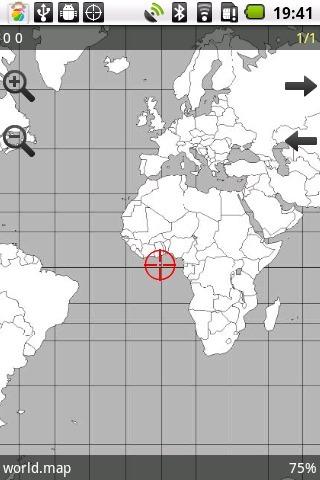 导航地图截图