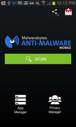 Malwarebytes截图