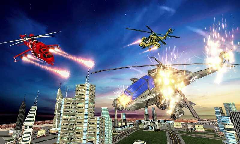 美国警察直升机机器人截图