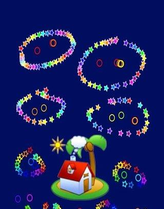 儿童彩虹绘画涂鸦
