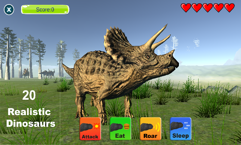 恐龙模拟截图