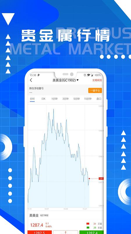 元丰国际期货截图