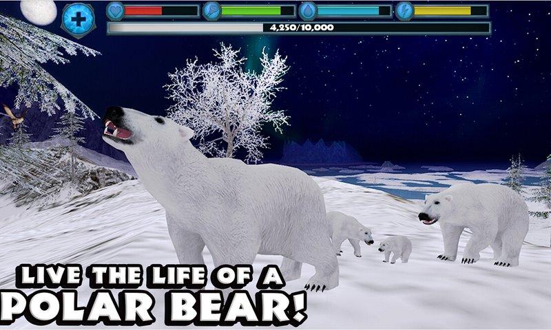 北极熊模拟截图