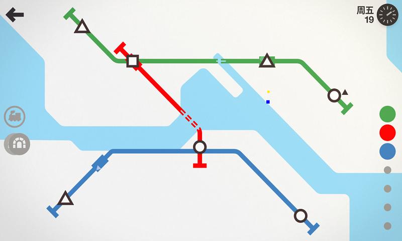 迷你地铁截图