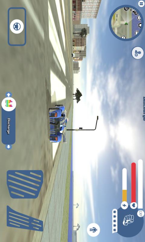 超级跑车机器人截图