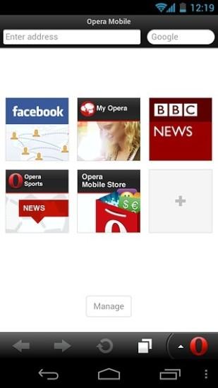 Opera Classic截图