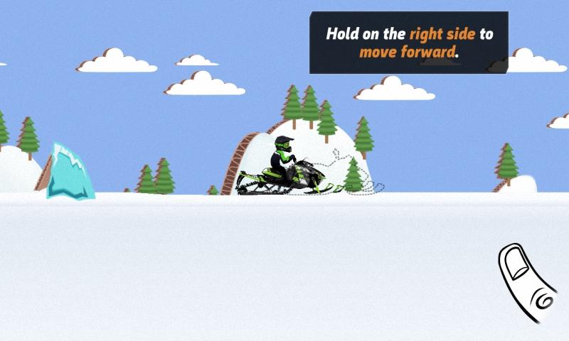 雪地飞车截图