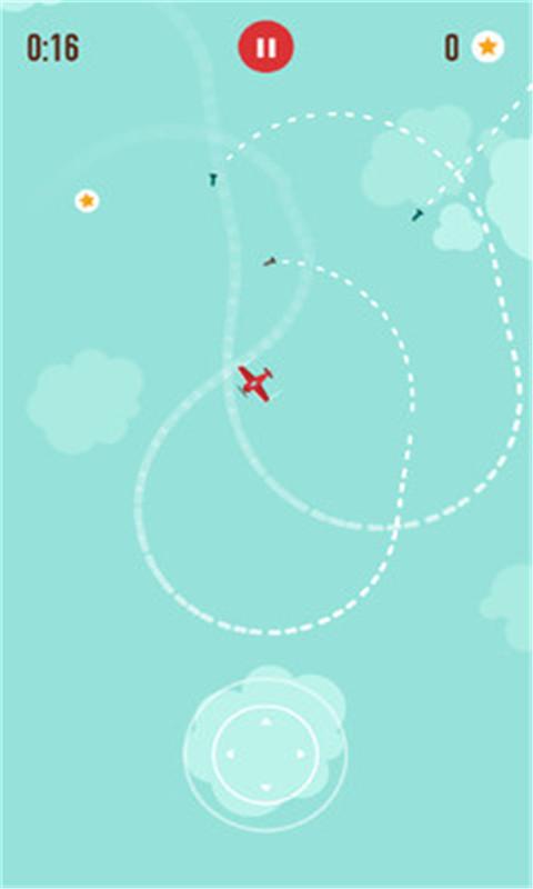 红色战机截图
