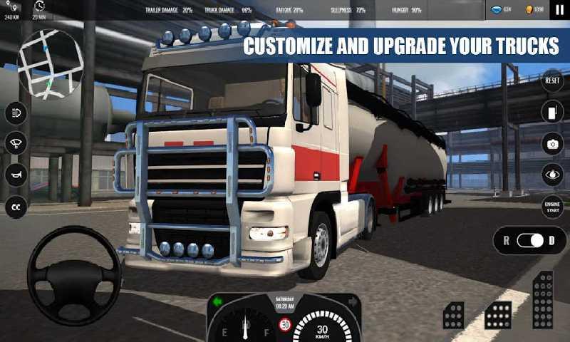 欧洲卡车模拟18专业版截图