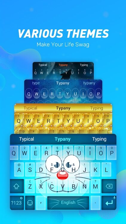 Typany Keyboard截图