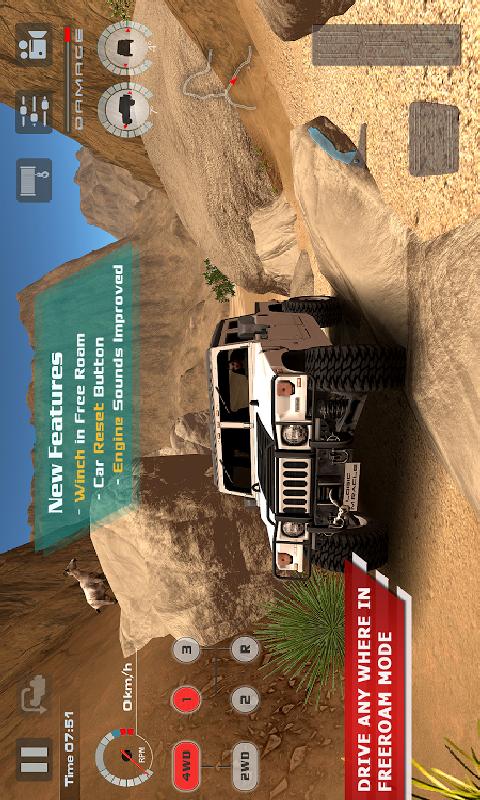 越野驱动沙漠