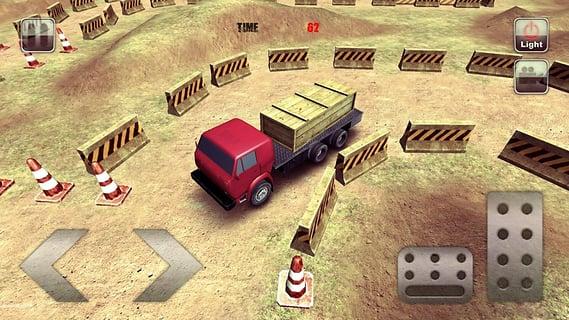 重型卡车停车场截图