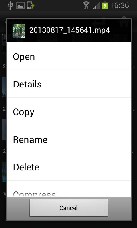 File Selector/Explorer截图