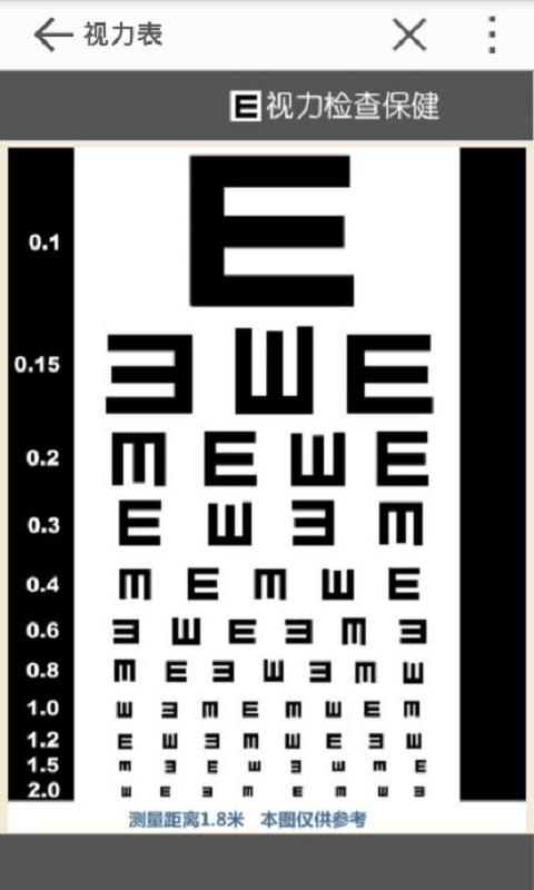 视力保健截图