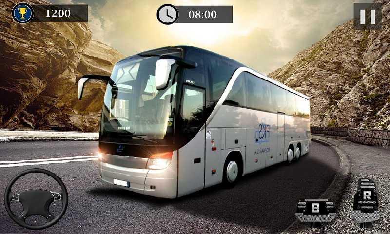 山路巴士驾驶模拟器截图