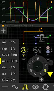 电路模拟器截图