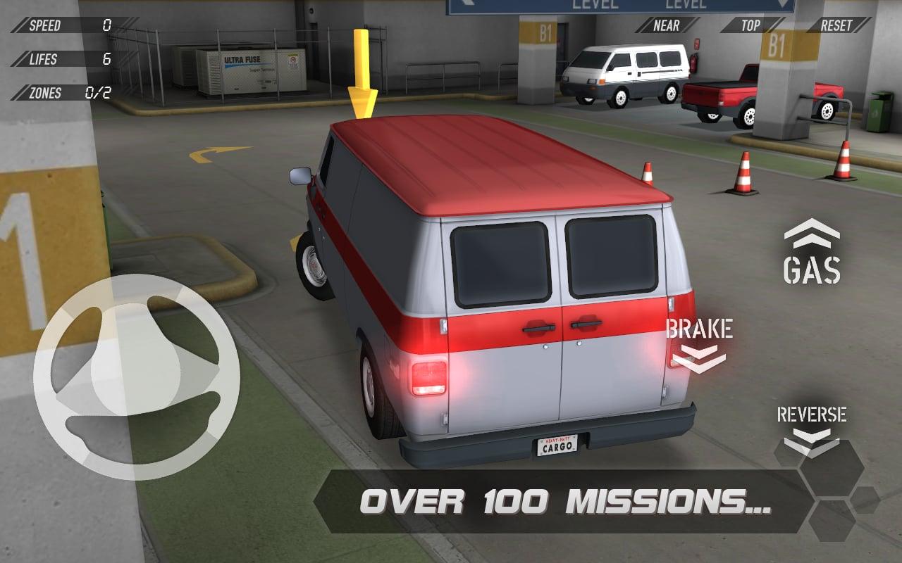 3D停车截图