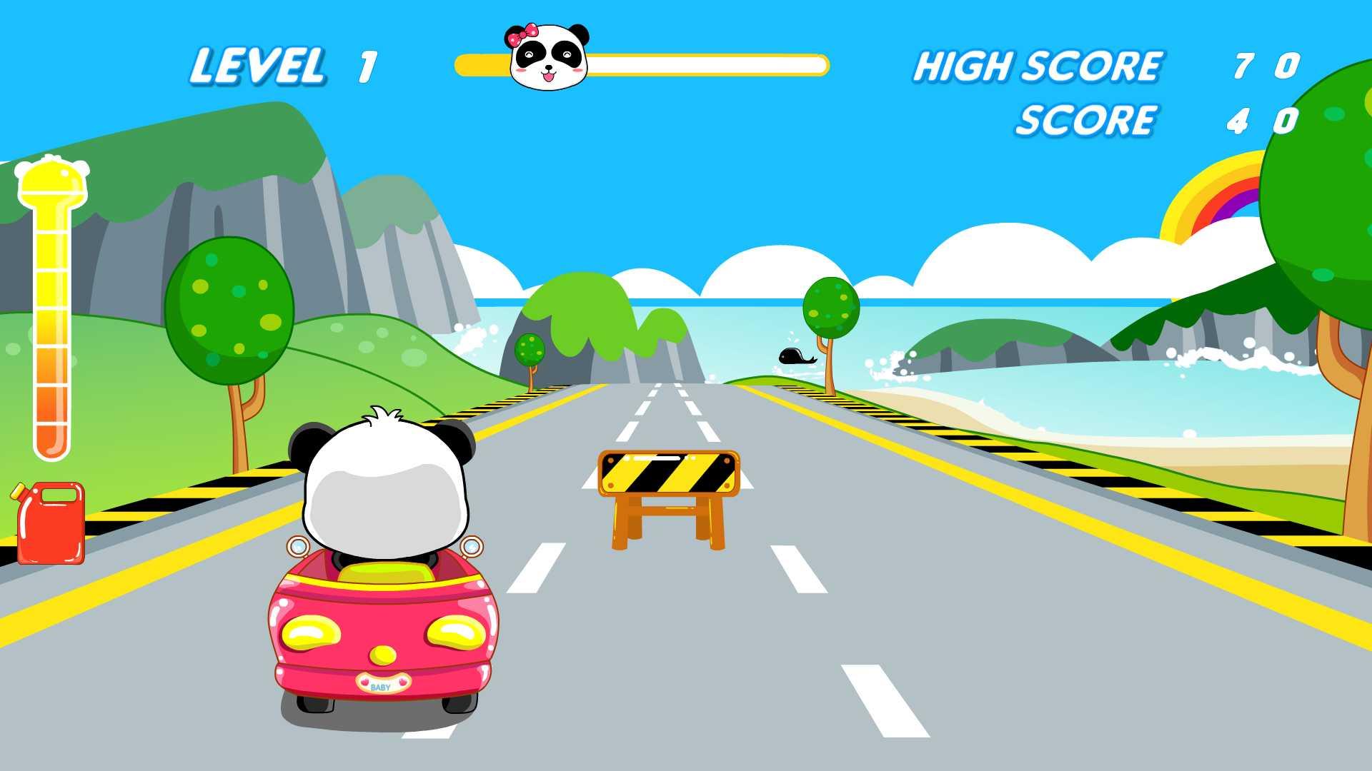 熊猫卡丁车截图
