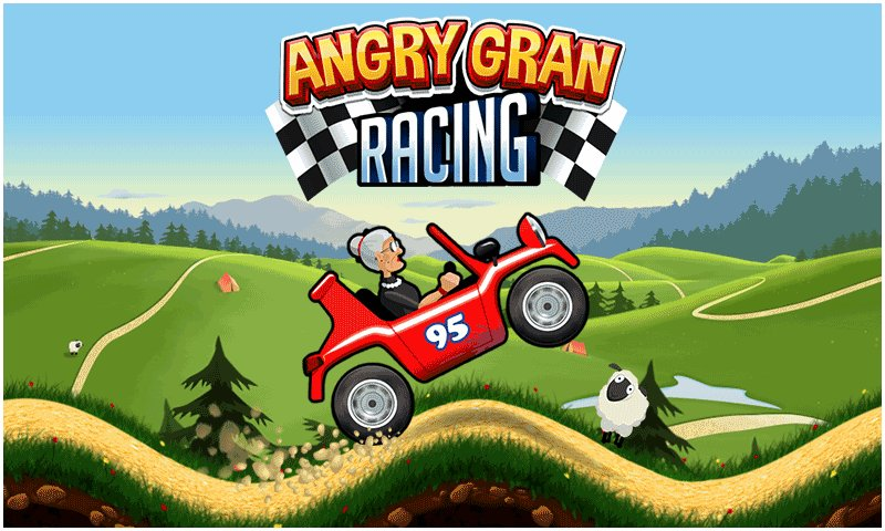 愤怒的老奶奶赛车