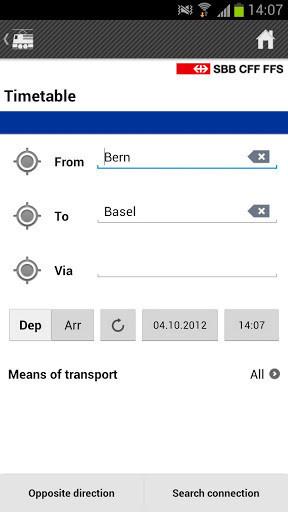 SBB Mobile