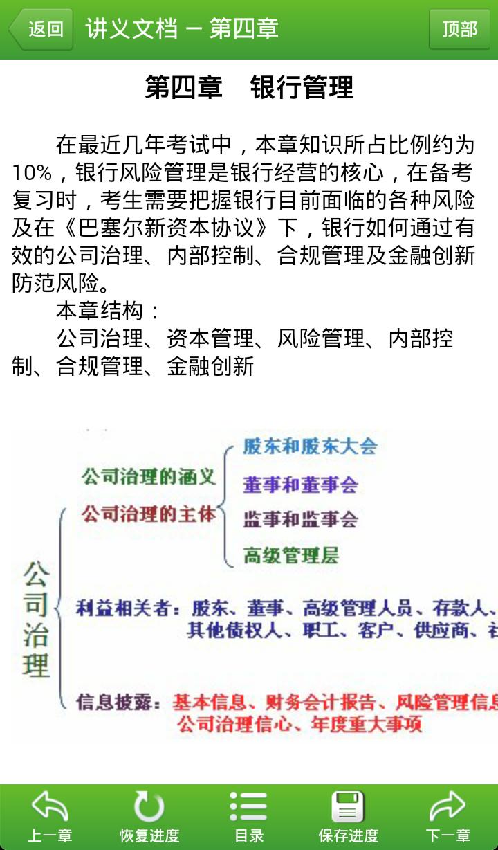 银行职业资格考试截图