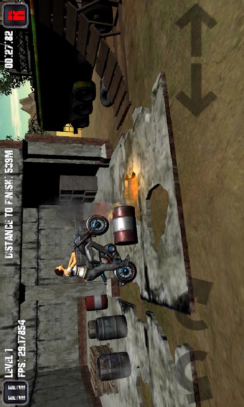摩托车游戏截图