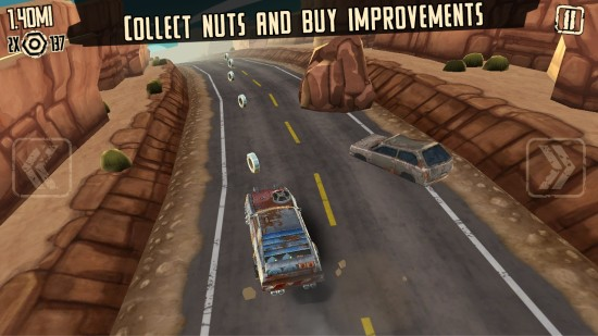 疯狂道路跑酷 无限金币截图