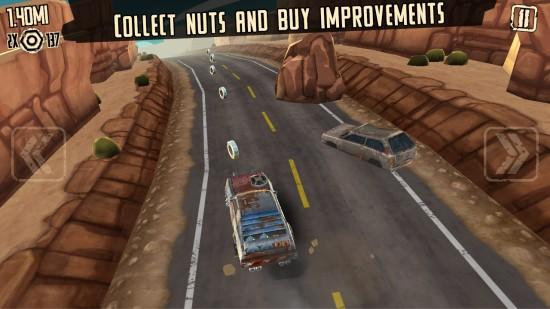 疯狂道路跑酷 无限金币