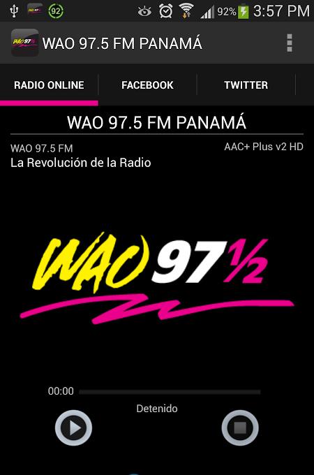 WAO FM PANAMá