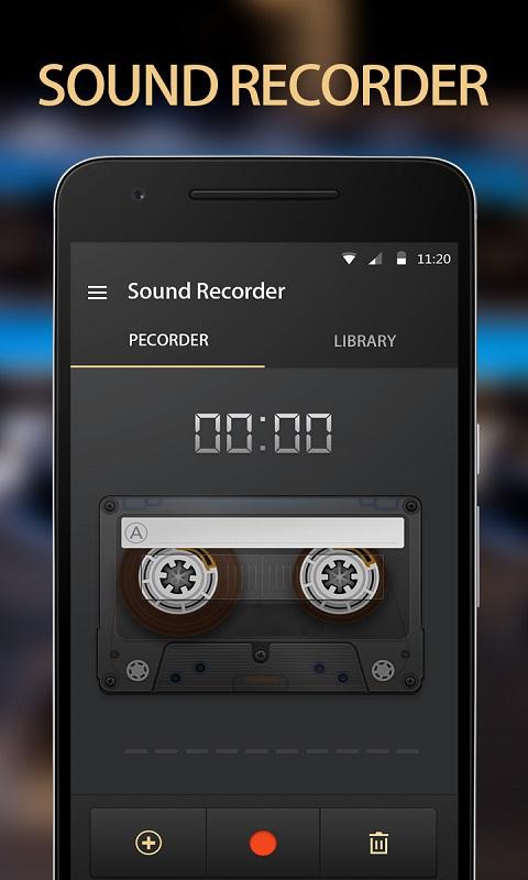 智能磁带录音机