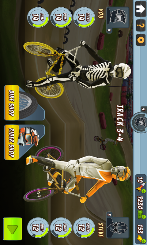 疯狂自行车赛截图