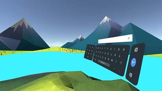 Daydream键盘截图