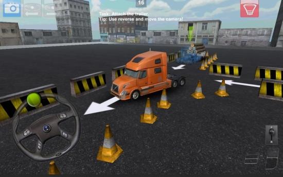卡车停车3D 破解版截图