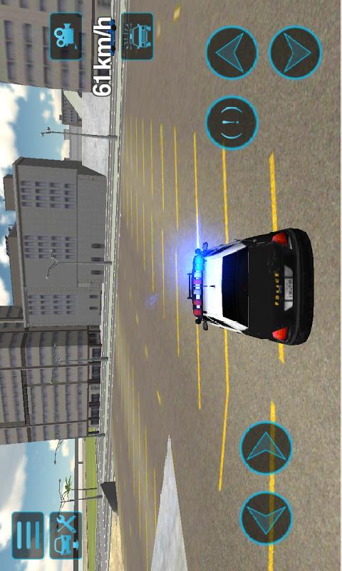 警车训练场截图