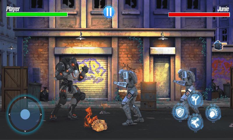 机器人街头格斗截图