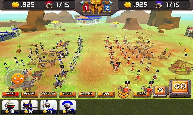 火柴人希腊勇士城堡战争